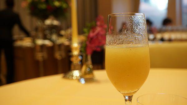 リストランテ ル・ミディひらまつの季節のフルーツカクテル