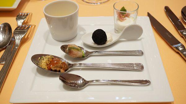 リストランテ ル・ミディひらまつの前菜