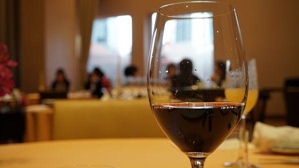 リストランテ ル・ミディひらまつのフランス赤ワイン