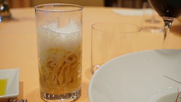 リストランテ ル・ミディひらまつのパスタ麺