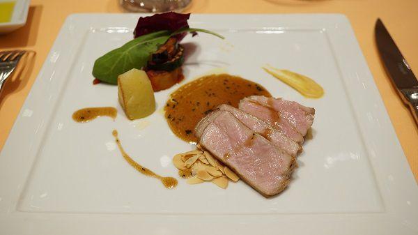 リストランテ ル・ミディひらまつ鹿児島産霜降り豚肉のロースト
