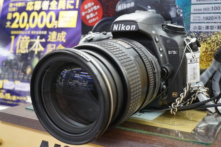 Nikon D750の交換レンズ人気ランキングベスト4