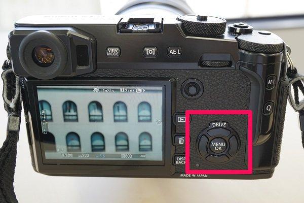 X-Pro2,セレクターボタン