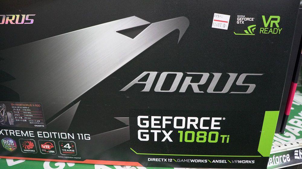 GeForce GTX1080Ti搭載オススメ動画編集用デスクパソコン
